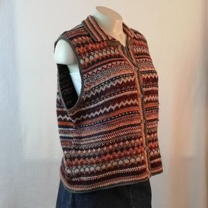 Sigrid Olsen Knitted Sweater Vest